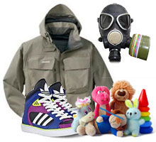 Детские товары и средства спец защиты (СИЗ)